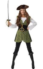 Da Donna Rosso Swashbuckler Pirata Caraibi BOOKS /& Film Costume