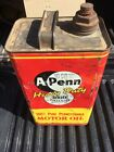 Original+Vintage+A-Penn+Heavy+Duty+Motor+Oil+Two+Gallon+Can