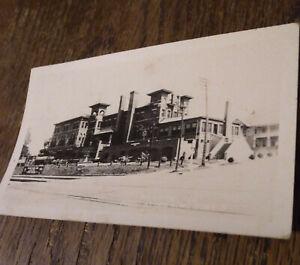 RPPC 1947 Palestine TX YMCA Bldg Longview San Antonio Railway RPO 1947 Train 37