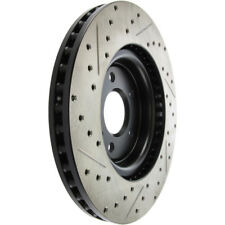 Stoptech 938.61031 Street Axle Pack Drilled /& Slotted Front