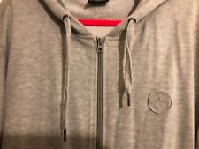 Converse Core Zip Hoodie Ladies Drawstring Hooded Top Outerwear, Size 52/54.
