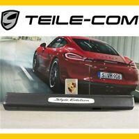 16% Neuf + Orig. Porsche Boxster/Cayman 981 Barre D'Entrée Style Édition Gauche