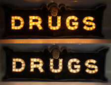 Vintage Marquee lights art DRUGS Ver 2  inspired at The Parker Palm Springs