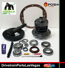 GM Chevy 8.5 10 Bolt Posi Limited Slip 3.73 Gear Set Master Kit Gorilla Grip KOY