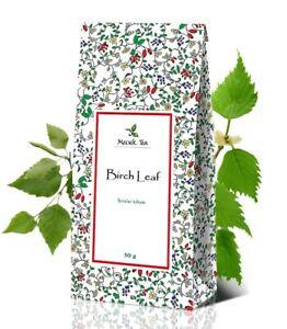Birch Leaf Betulae Folium Premium Natural Herbal Loose Leaves Tea 50g
