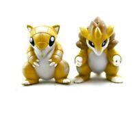 Vintage RARE Pokemon Sandshrew & Sandslash Bandai TOMY Figures Lot