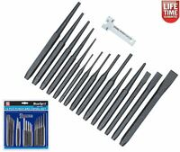 Bluespot Punch & Chisel Set 16 Pc Cold Chisels Cente Pin Taper Parallel 22447