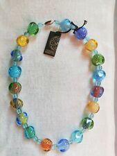 Ercole Moretti Necklace of Murano Glass Beads (0263)