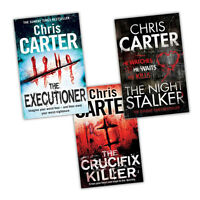 Chris Carter A Robert Hunter Crime & Thriller Collection  3 Books Set
