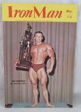 IRONMAN Body Building Muscle RON THOMPSON/SCOTT WILSON, Nov 74 Vol 34 #1