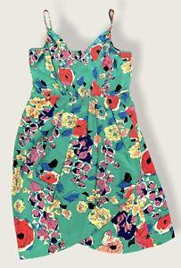 Yumi Kim Mini Dress Floral  Spaghetti Strap Size S