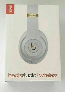 Beats By Dr Dre Studio3 Wireless Headphones - White Brand New and Sealed