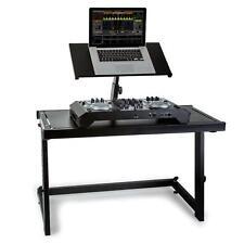 (Ricondizionato) Scrivania Dj Stand Supporto Laptop Consolle Studio Mobile Cdj S