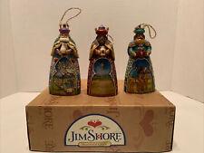 Jim Shore Heartwood Creek 3 Wiseman 2007 Christmas Ornaments