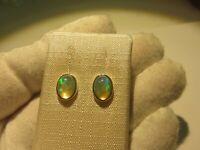 Edel Opal Ohrstecker Opal Earrings 925 Silber Nr. E8081
