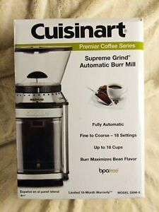 Cuisinart DBM-8FR Supreme Grind Automatic Burr Mill Pre-owned EUC