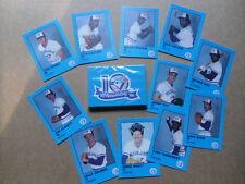 1986-TORONTO BLUE JAYS Fire Safety Card Set.