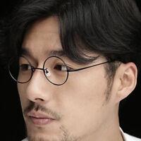 Vintage Small Round Eyeglass Frames Spring Hinges John Lennon HARRY POTTER Glass