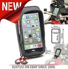 Givi Waterproof Universal Smart phone Holder│For Motorcycle Handlebar│Rain Prote