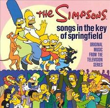 New CD ~ SONGS IN THE KEY OF SPRINGFIELD by THE SIMPSONS (Cartoon)