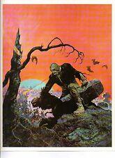 "1978 Full Color Plate /""Attack/"" by Frank Frazetta Fantastic GGA"