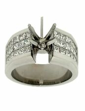 1.92ctw Princess Diamond 14k White Gold Ring