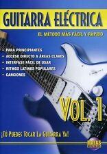 NEW Guitarra Electrica Tu Puedes Tocar La Guitarra Ya Volume 1 DVD Instructional