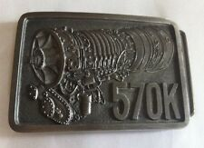 CAPP & KNUDSEN 570K DIESEL ENGINE METAL BELT BUCKLE