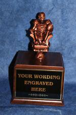 Fantasy Football Armchair Quarterball 18 Yr. Perpetual Trophy. Free Engraving!