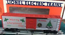 Lionel Merry Christmas 1988 Sliding Door Billboard Box Car 6-19904