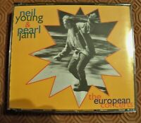 "NEIL YOUNG & PEARL JAM ""THE EUROPEAN CONCERTS 1995"" TRIPLE CD LIVE IN EUROPE 95"