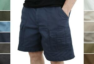 Wrangler Outdoor Men's Cargo Shorts 6 Pocket Lightweight Cotton Hiking Fishing