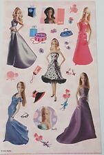 Sandylion Scrapbooking Stickers BARBIE DOLLS 2 MAXI Sheets Free Ship Offer