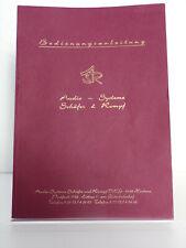 Schäfer & rompf manual de instrucciones ASR emisor, muy buen estado, sv163