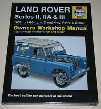 Reparaturanleitung Land Rover Serie II, IIA + III, Baujahre 1958 - 1985
