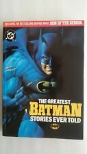 The Greatest Batman Stories Ever Told by Octopus Publishing 1989 - DC Comics