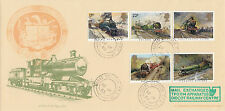 GB :1985 FAMOUS TRAINS-Bradbury cover(City of Truro)-GREAT WESTERN TPO UP d/ring
