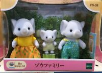 Sylvanian Families elephant family [FS-38] Japan EPOCH Calico Critters ✈DHL/FedE