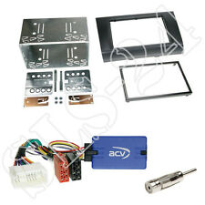 Zenec VOLANTE Interface + doppio din Suzuki Swift 2005-08/2010 pannello Radio Set Auto