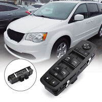 04602535AI Power Window Switch Front Driver Left Side Black For Town and Country