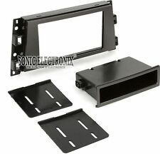 Scosche GM1523B Single/Double DIN Installation Dash Kit for 2006-Up Cadillac DTS