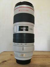 CANON EF 70-200mm F/2.8 IS L USM LENS