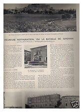 L'ILLUSTRATION 5220 27/03/1943 GRIGNAN SOIERIE LYON