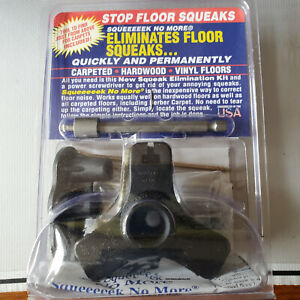 SQUEEEEEK NO MORE Screw Kit 3233 Stops & Eliminates Floor Squeak Carpet Hardwood