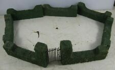 31 Vintage 1930's Fiber Ivy Covered Castle Walls Train Layout Christmas Tree
