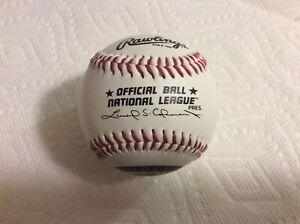 Colorado Rockies Leonard Coleman Official National League Baseball 1997