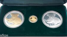 2009 Australian Koala 3 Coin Set: Gold Silver & Gilded - COA #150 of 1000 Minted