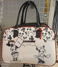 Disney Mickey & Minnie Mouse Weekend Bag Holdall Holiday duffle Primark white