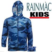 KIDS CHILDREN BOYS GIRLS RAIN MAC KAGOUL KAGOOL CAGOULE RAINCOAT FESTIVAL JACKET