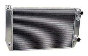 Griffin 1-58241-XLS Aluminum Universal Fit Radiator for Chevy / Dodge Racer